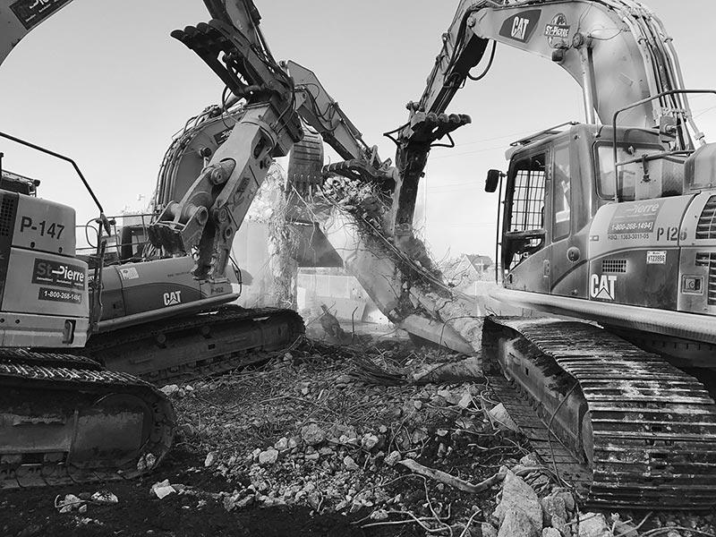 Expert en démolition à Montréal