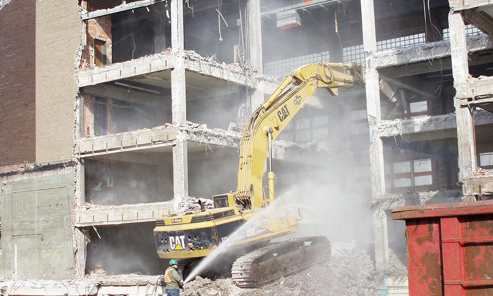 De grands projets de démolition nous attendent pour cet été